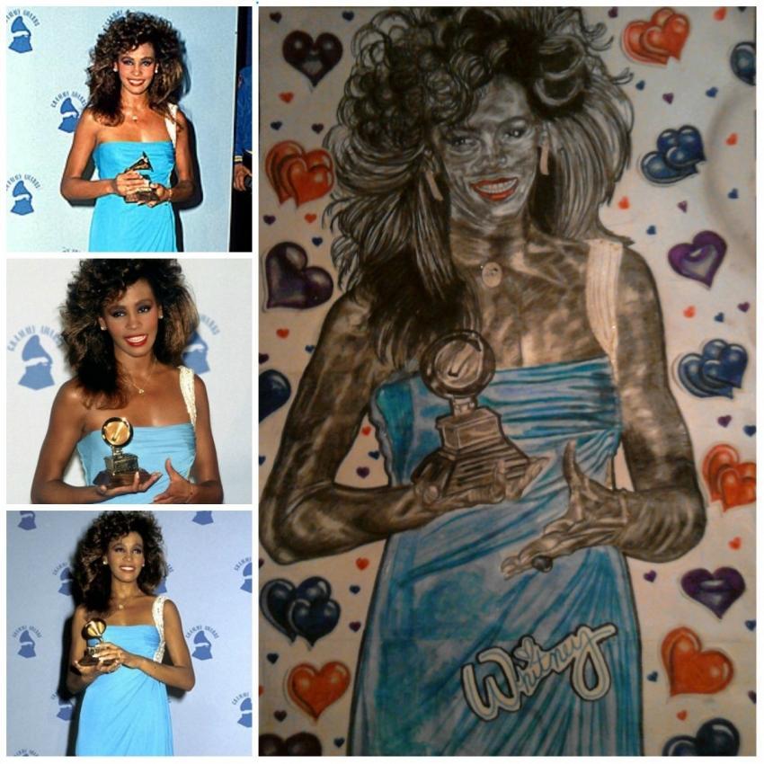 Whitney Houston by NicoleBoo